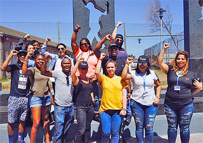 Study Abroad - South Africa student group