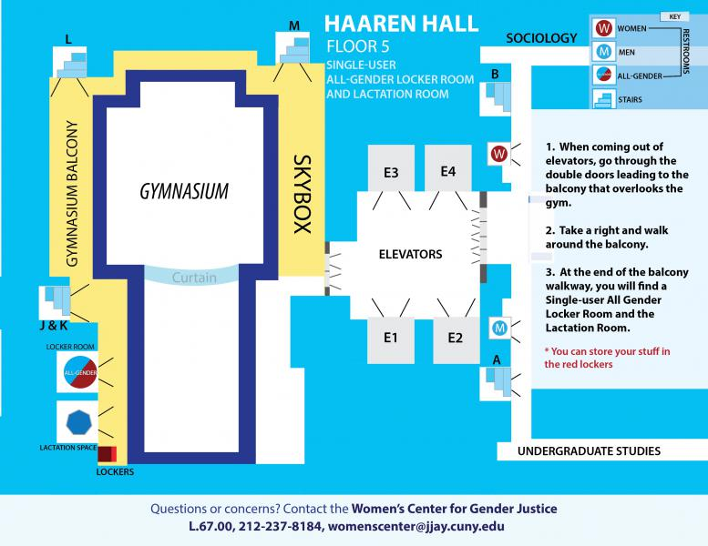 john jay campus map All Gender Facilities And Lactation Room John Jay College Of john jay campus map